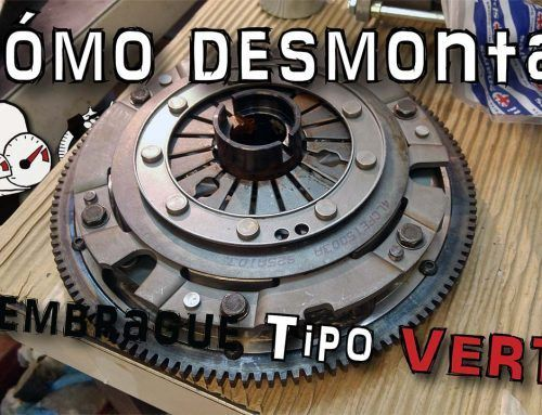 Mini SPI, how to disassemble the clutch (Verto type)