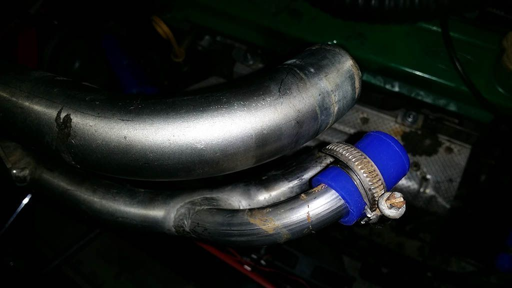 New cooling system hoses #60