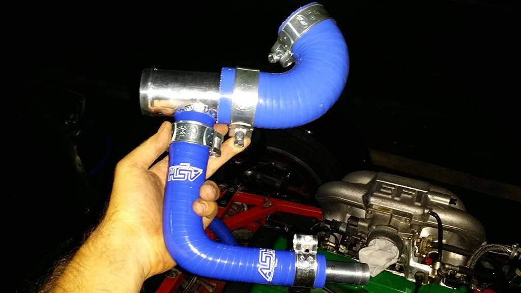 New cooling system hoses #61