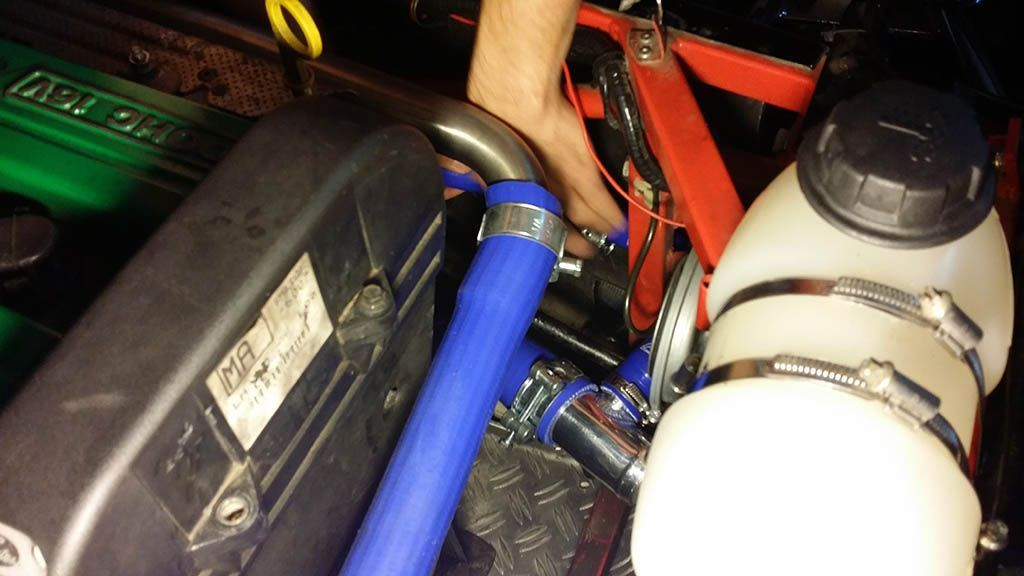 New cooling system hoses #79